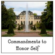 6-17-2018 Commandments to Honor Self